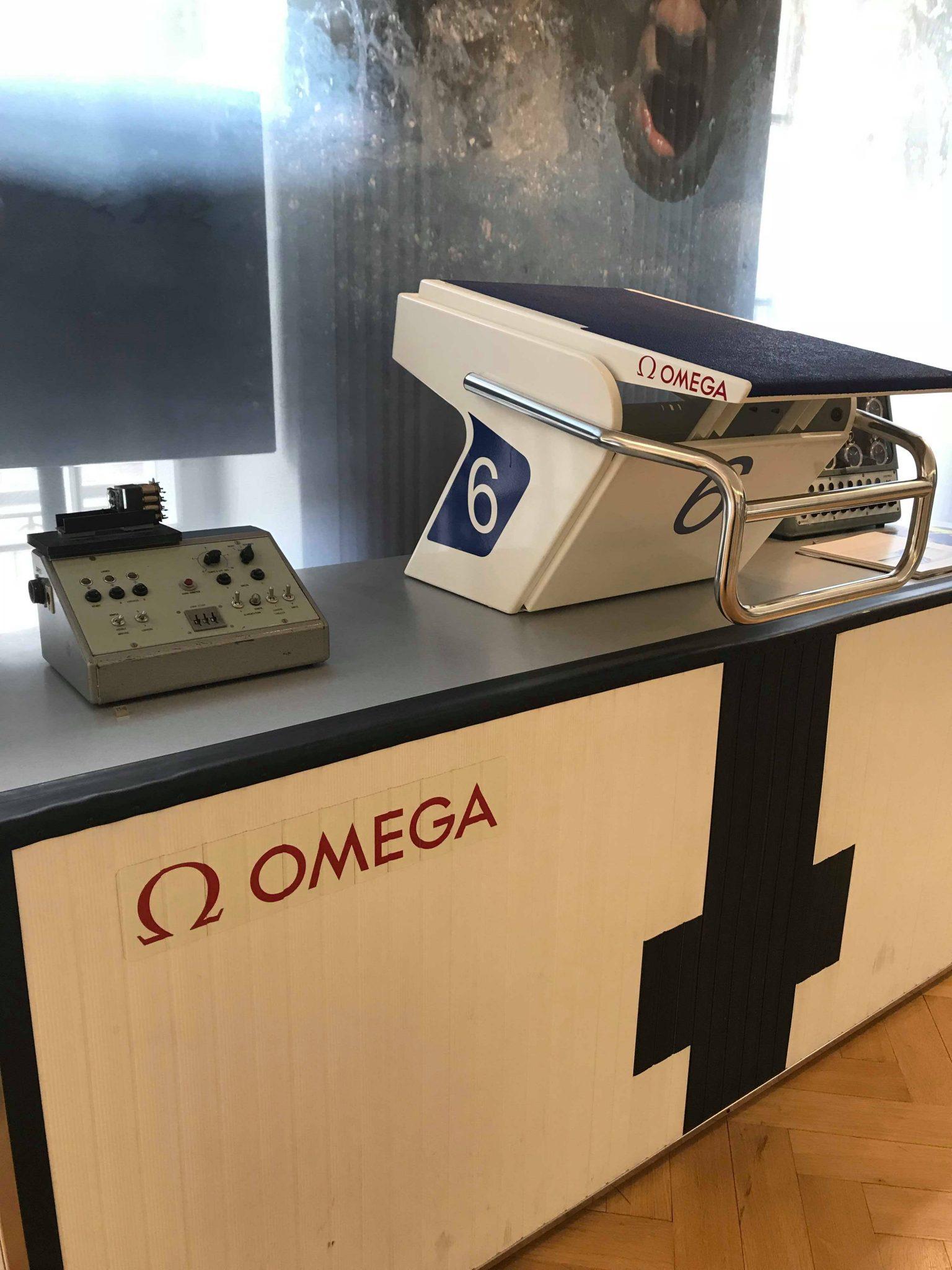 Omega olympics, Omega Museum, Biel, Switzerland