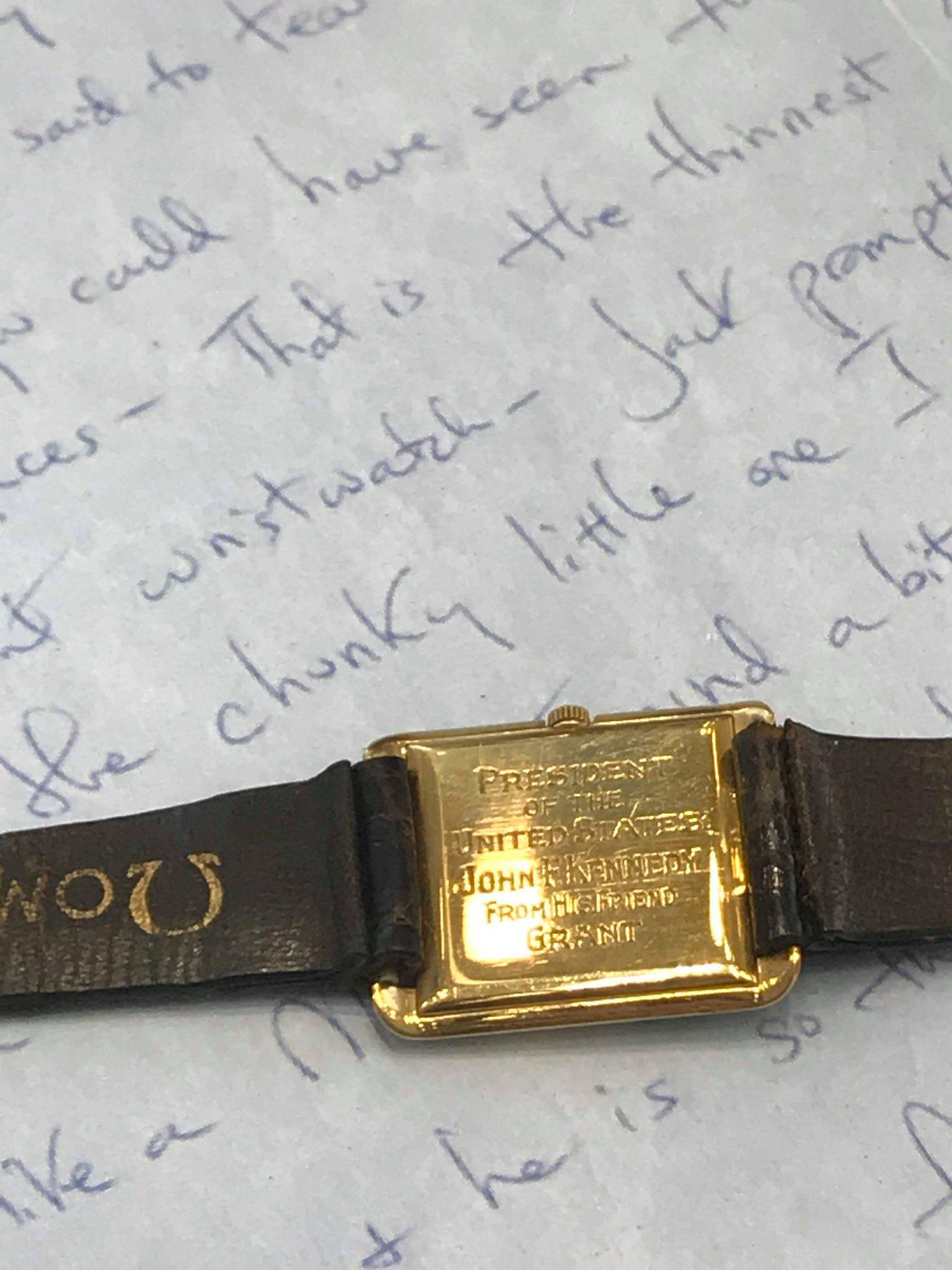 JFK Omega watch, Omega Museum, Biel, Switzerland