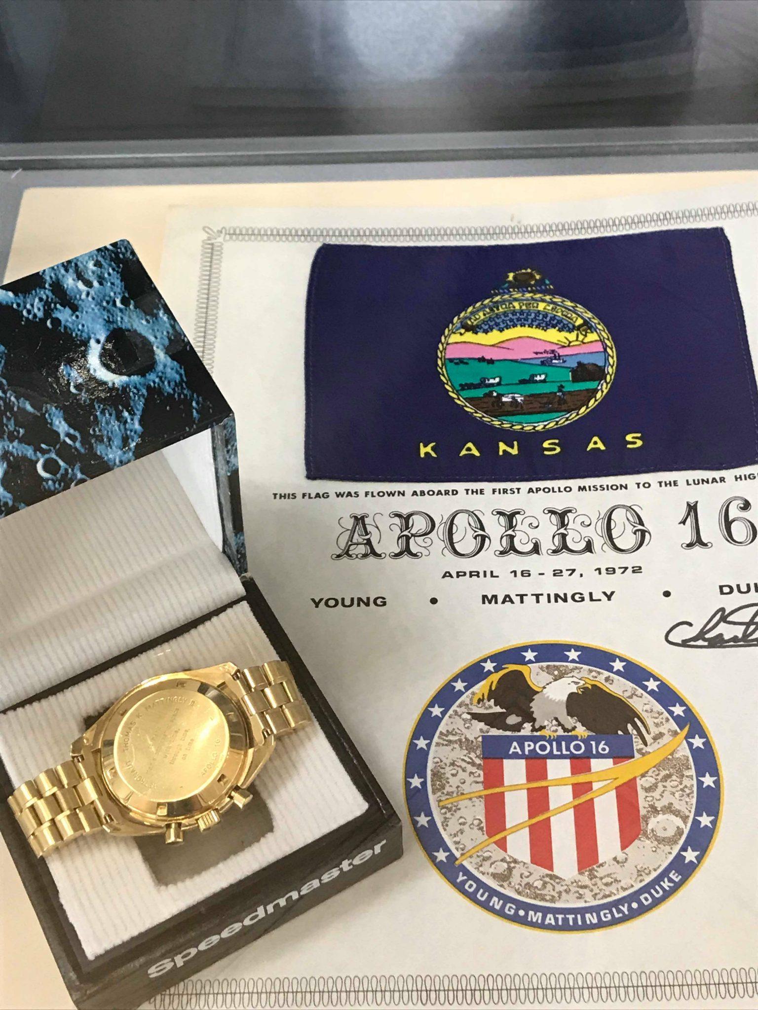 Apollo 16 Speedmaster, Moonwatch, Omega Museum, Biel, Switzerland