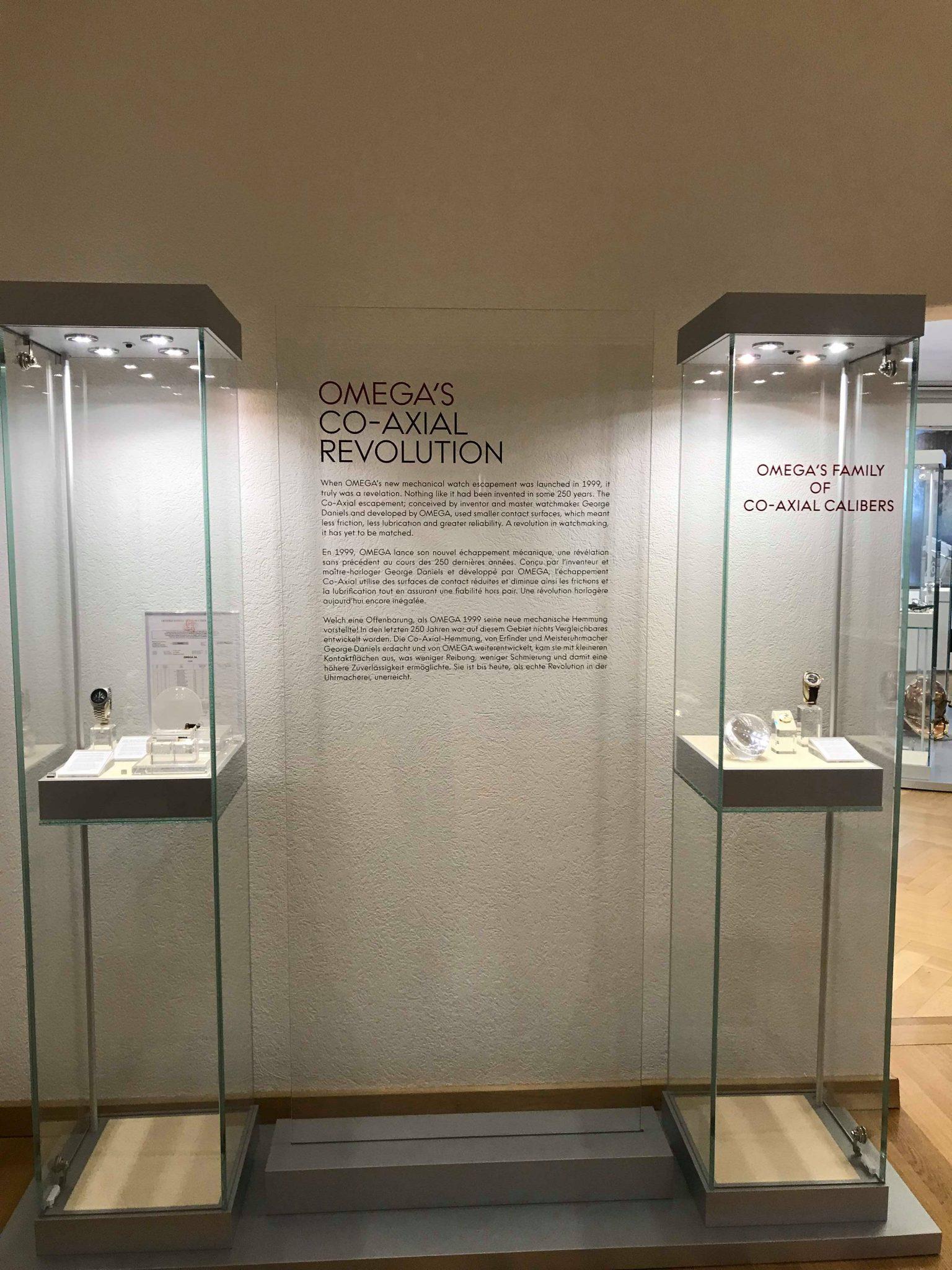 Co-axial, Omega museum, Biel, Switzerland