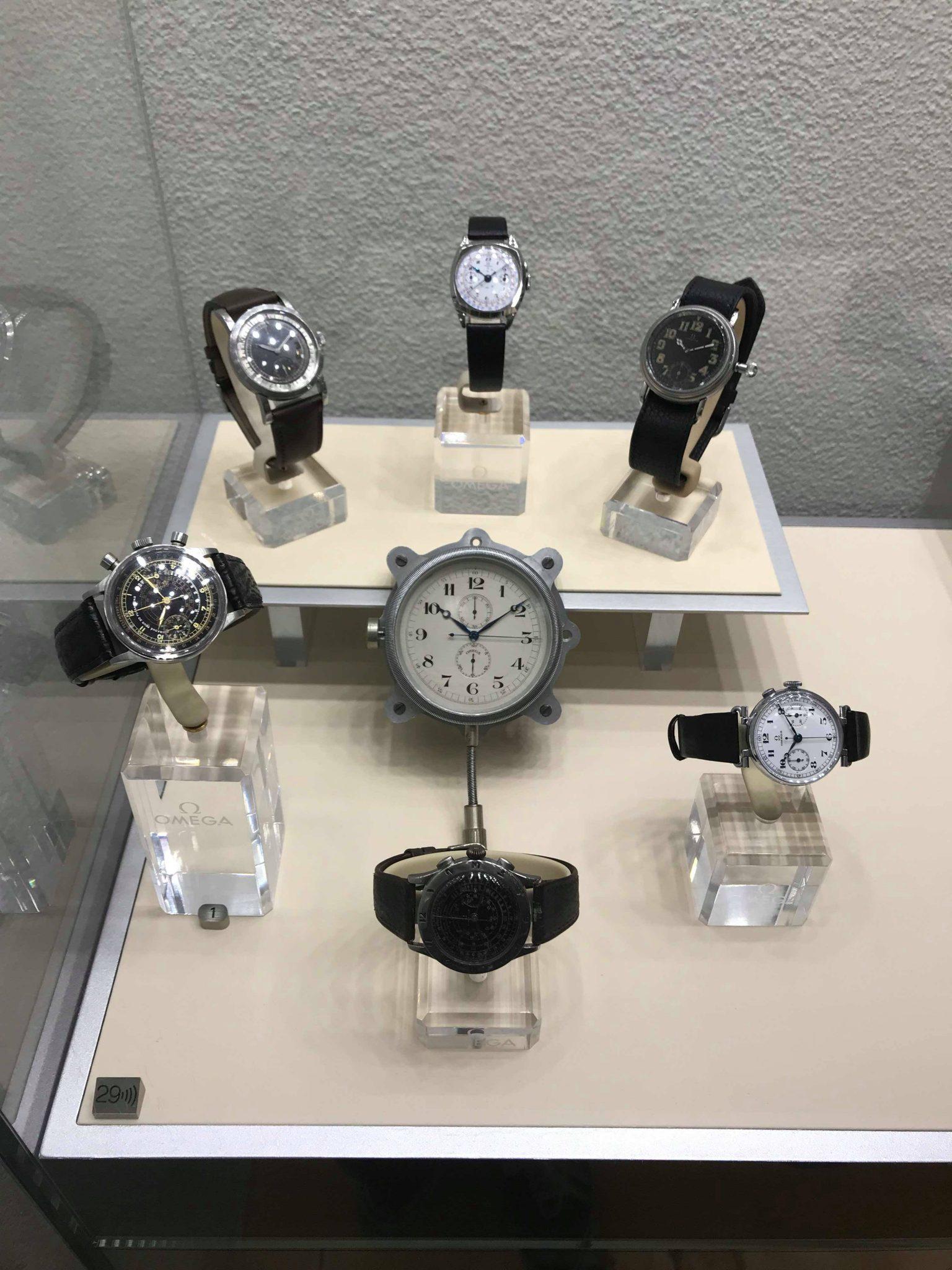 omega military watch, Omega museum, Biel, Switzerland