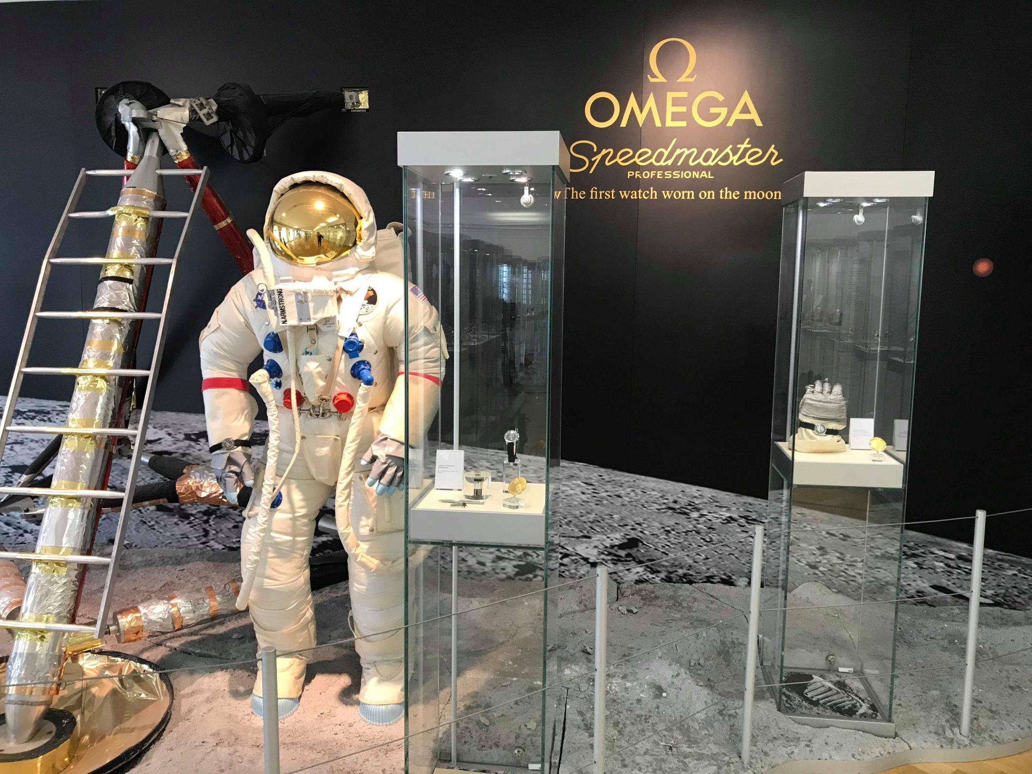 Speedmaster Moonwatch, Omega Museum, Biel, Switzerland