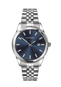 Sekonda Men's Classic Stainless Steel Bracelet Watch