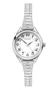 Sekonda Ladies' Classic Stainless Steel Expander Watch
