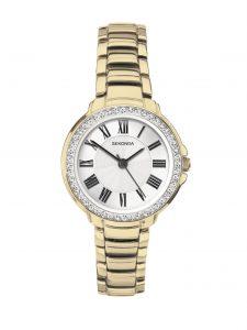 Sekonda Ladies' Classic Gold Plated Bracelet Watch