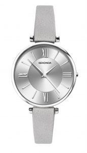 Sekonda Ladies' Editions Grey Strap Watch