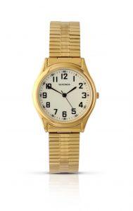 Sekonda Men's Gold Plated Analogue Watch